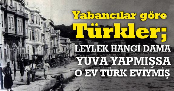 Yabancılar göre Türkler