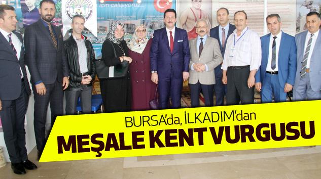 Bursa'da, İlkadım'dan Meşale Kent Vurgusu..