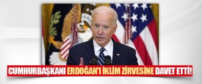 ABD Başkanı Biden Cumhurbaşkanı Erdoğan'ı İklim Zirvesine Davet Etti!