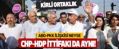 ABD-PKK ilişkisi Neyse CHP-HDP İttifakı da Aynı!