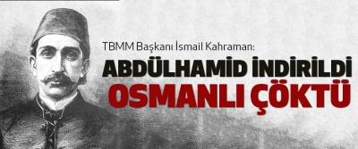 Abdülhamid İndirildi Osmanlı Çöktü