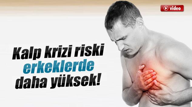 Kalp Krizi Riski Erkeklerde Daha Yüksek