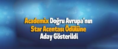 Academix Doğru Avrupa'nın Star Acentası Ödülüne Aday Gösterildi