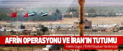 Afrin Operasyonu Ve İran'ın Tutumu
