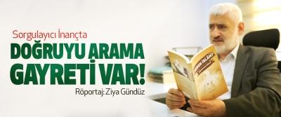 Ahmet Varol: Sorgulayıcı İnançta doğruyu arama gayreti var!