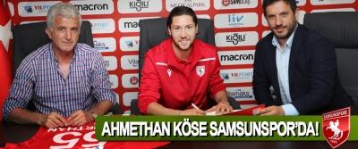Ahmethan Köse Samsunspor'da!