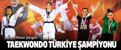 Ahsen Şengün Taekwondo Türkiye Şampiyonu