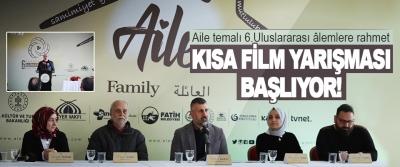 """""""Aile"""" Temalı 6. Uluslararası Alemlere Rahmet Kısa Film Yarışması Başlıyor!"""