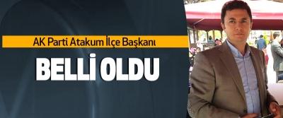 AK Parti Atakum ve Havza İlçe Başkanları belli oldu