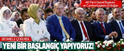AK Parti Genel Başkanı ve Cumhurbaşkanı Erdoğan