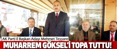 AK Parti il Başkan Adayı Mehmet Teyyare  Muharrem Göksel'i Topa Tuttu!