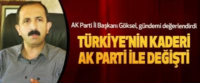 AK Parti İl Başkanı Göksel, gündemi değerlendirdi