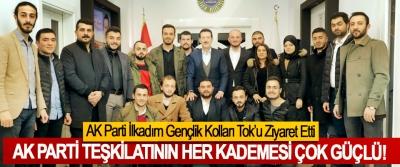 AK Parti İlkadım Gençlik Kolları Tok'u Ziyaret Etti