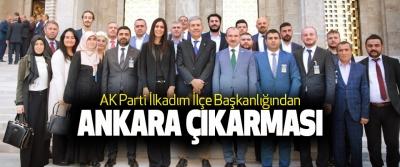 AK Parti İlkadım İlçe Başkanlığından Ankara Çıkarması