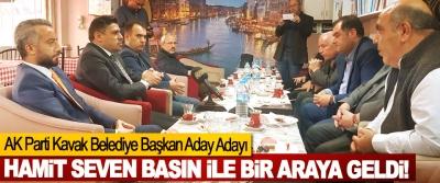AK Parti Kavak Belediye Başkan Aday Adayı Hamit Seven Basın ile bir araya geldi!