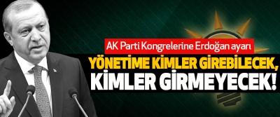 AK Parti Kongrelerine Erdoğan ayarı