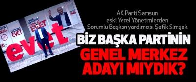 AK Parti Samsun eski Yerel Yönetimlerden Sorumlu Başkan yardımcısı Şefik Şimşek