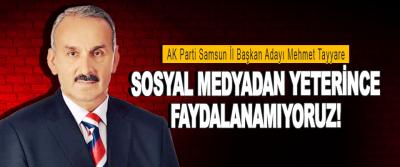 AK Parti Samsun İl Başkan Adayı Mehmet Tayyare