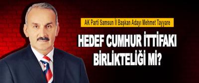 AK Parti Samsun İl Başkan Adayı Mehmet Teyyare Hedef Cumhur İttifakı Birlikteliği Mi?