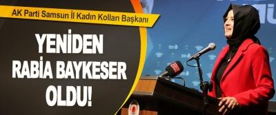 AK Parti Samsun İl Kadın Kolları Başkanı Yeniden Rabia Bay Keser Oldu!