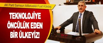 AK Parti Samsun Milletvekili Fuat Köktaş