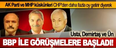 AK Parti ve MHP küskünleri CHP'den daha fazla oy getirir diyerek BBP İle Görüşmelere Başladı!