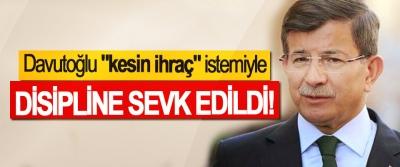 AK Parti'de Davutoğlu