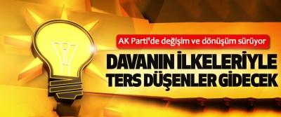 AK Parti'de değişim ve dönüşüm sürüyor