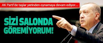 AK Parti'de taşlar yerinden oynamaya devam ediyor…