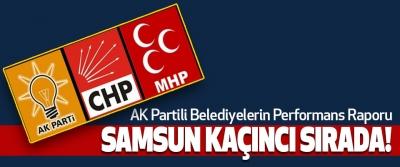 AK Partili Belediyelerin Performans Raporu