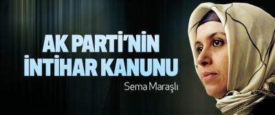Ak Parti'nin İntihar Kanunu