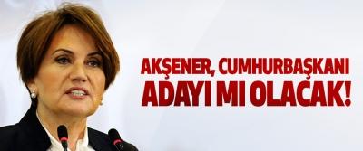 Akşener, cumhurbaşkanı adayı mı olacak!
