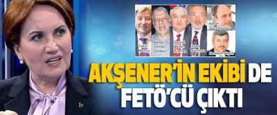Akşener'in Ekibi De Fetö'cü Çıktı
