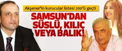 Akşener'in kurucular listesi 200'ü geçti Samsun'dan süslü, kılıç veya balık!