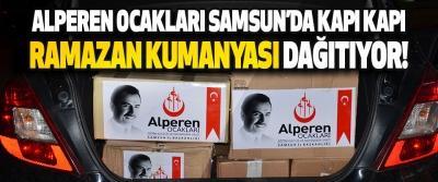 Alperen Ocakları Samsun'da Kapı Kapı Ramazan Kumanyası Dağıtıyor!