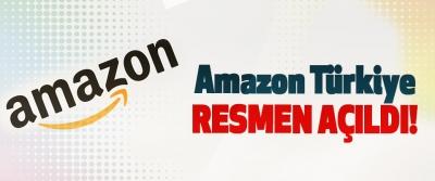 Amazon Türkiye resmen açıldı!