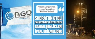 Anadolu Genç Derneği Başkanı Şenol Altun Yetkililere seslendi