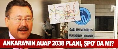Ankara'nın AUAP 2038 Planı, ŞPO' da mı?