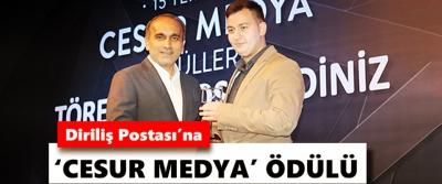 Arnavutköy Belediyesinden Diriliş Postası'na 'Cesur Medya' Ödülü