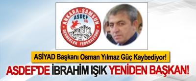 ASDEF'de İbrahim Işık Yeniden Başkan!