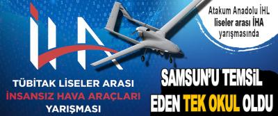 Atakum Anadolu İHL, Liseler Arası İHA Yarışmasında, Samsun'u Temsil Eden Tek Okul Oldu