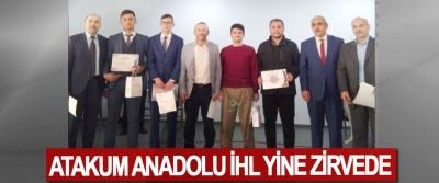 Atakum Anadolu İHL Yine Zirvede