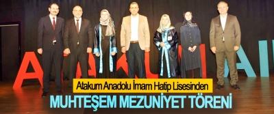Atakum Anadolu İmam Hatip Lisesinden Muhteşem Mezuniyet Töreni