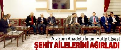 Atakum Anadolu İmam Hatip Lisesi Şehit Ailelerini Ağırladı