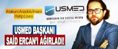 Atakum Anadolu İmam Hatip Lisesi Usmed Başkanı Said Ercan'ı Ağırladı!