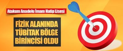 Atakum Anadolu İmam Hatip Lisesi Fizik Alanında Tübitak Bölge Birincisi Oldu