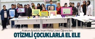 Atakum Anadolu İmam Hatip Lisesi Öğrencileri, Otizmli Çocuklarla El Ele