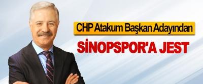 CHP Atakum Başkan Adayından Sinopspor'a Jest