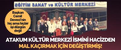 Atakum Belediye Başkanı Cemil Deveci'nin Hiç Ama Hiçbir İşi Düzgün Değil