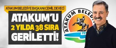 Atakum Belediye Başkanı Deveci Atakum'u 2 Yılda 38 Sıra Geriletti!